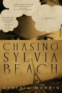 Cynthia Morris Paris historical novel Chasing Sylvia Beach