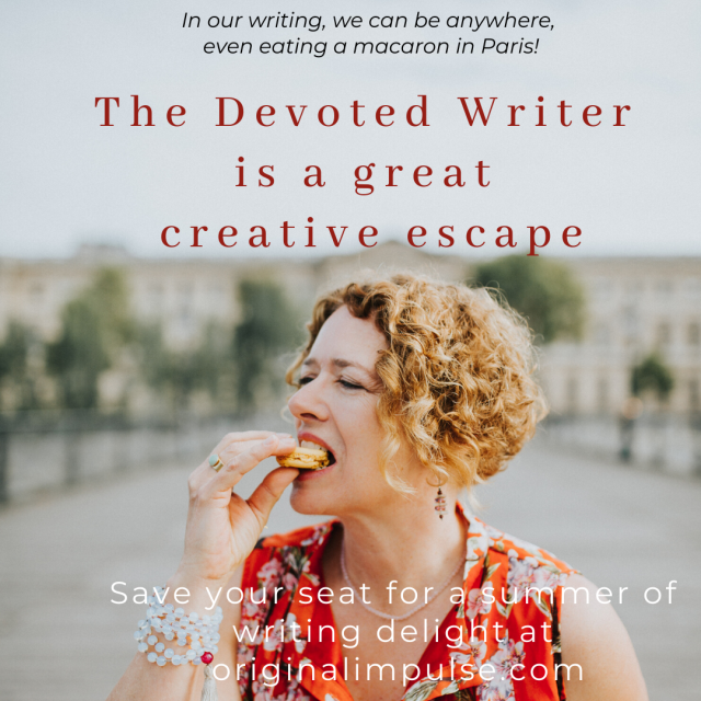 Writing as escape