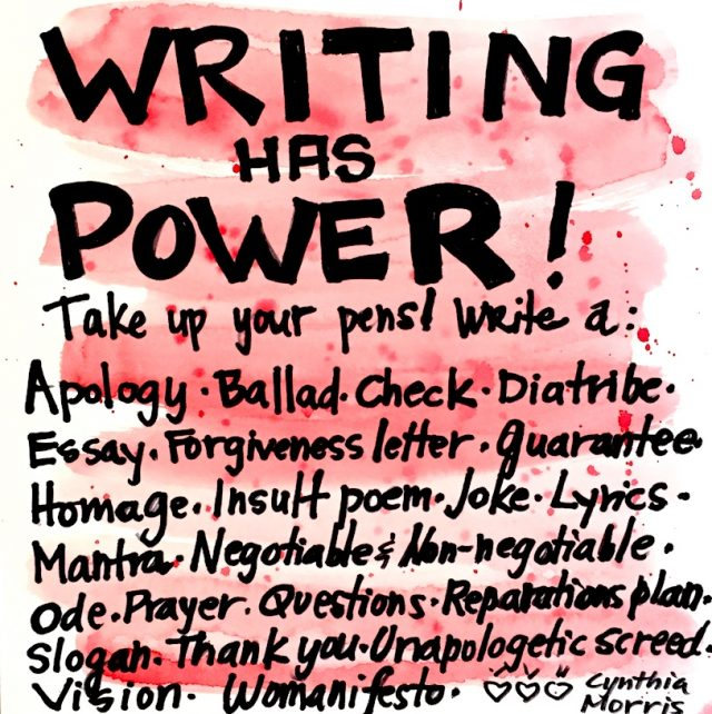 writing has power to help be antiracist