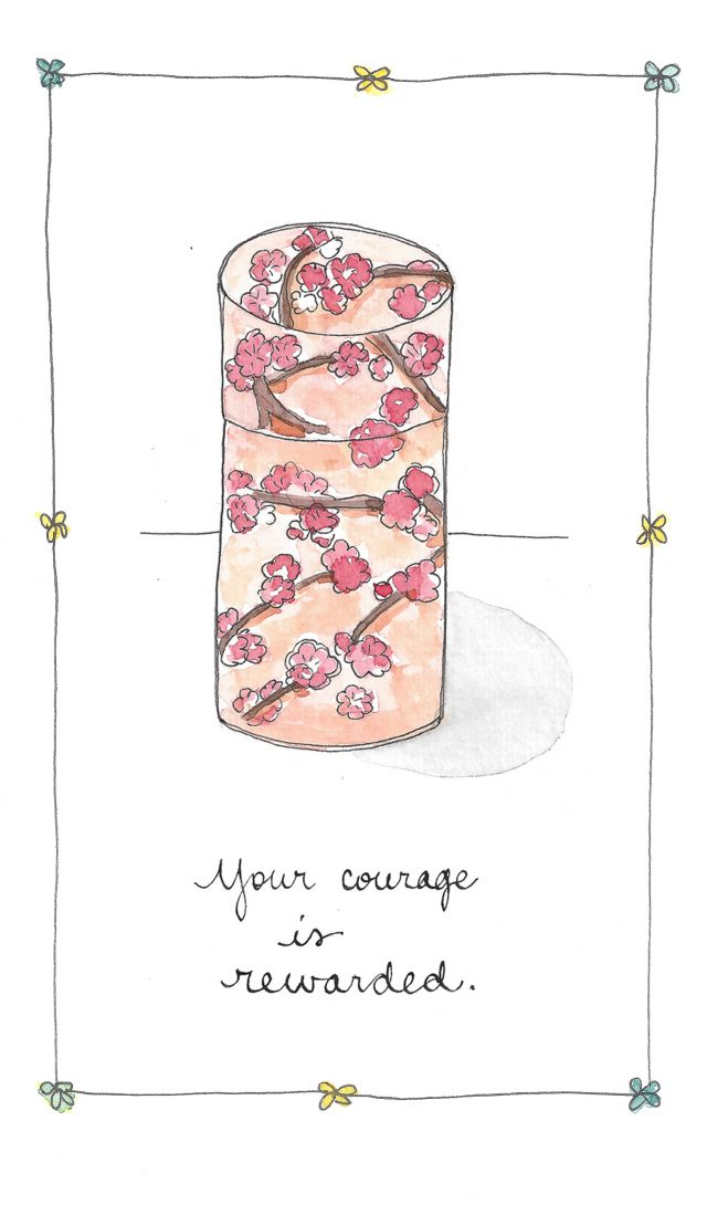 you have the courage to write a book