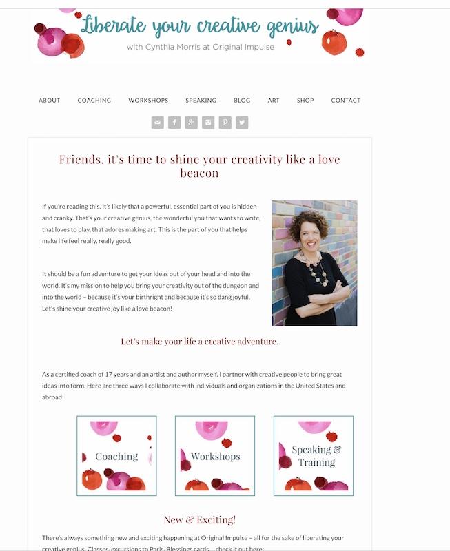 Cynthia Morris author artist