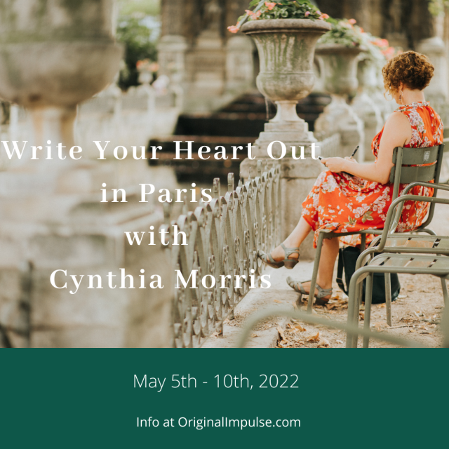 Paris writing workshop